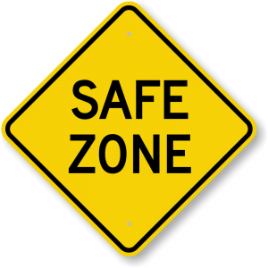 safe-zone-sign